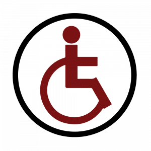 Handicap Accessible door sign