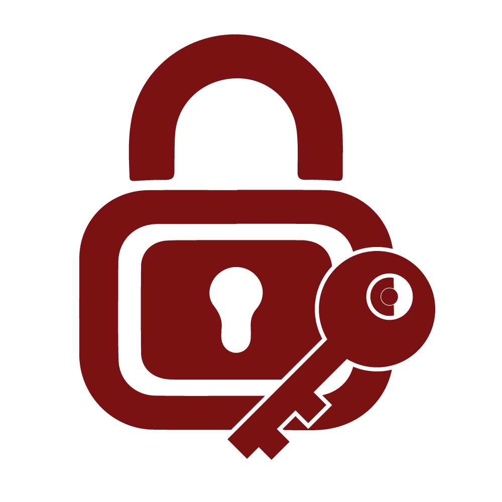 Lock & key icon
