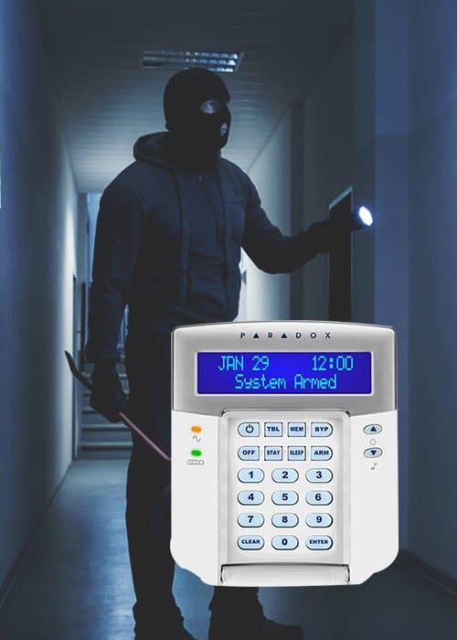Burglar Alarm system by Spectra and UTS Group