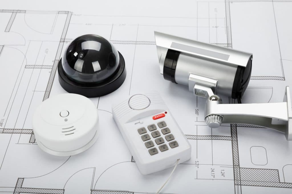 security cameras and alarm audit