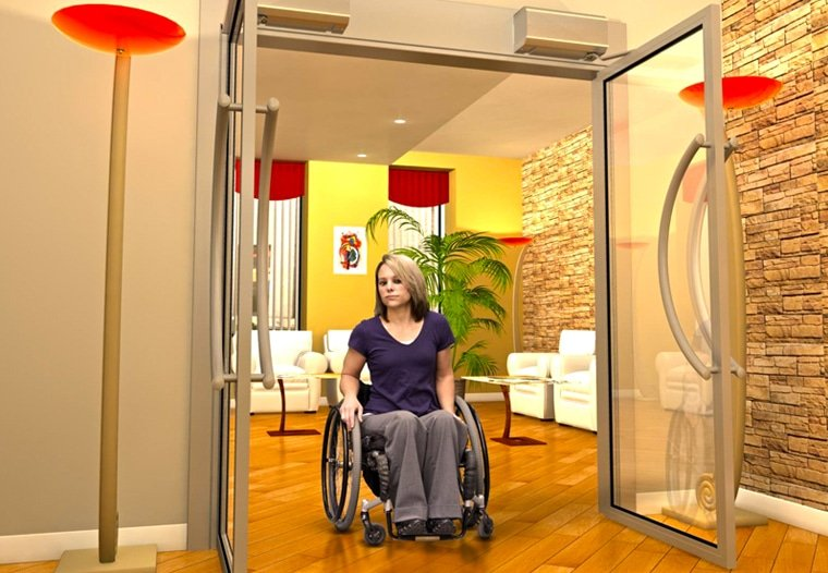 Apartment Handicap doors